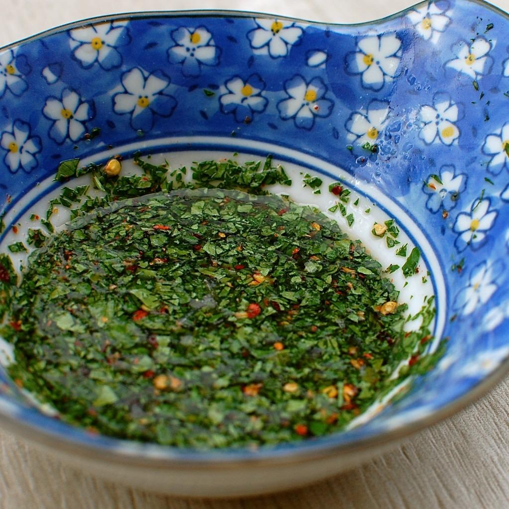 condimento insalata thai