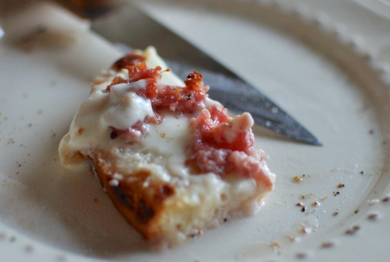 Crostone Salsiccia e stracchino 3
